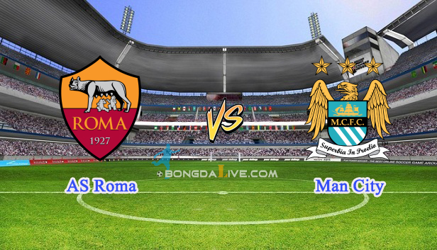 Nhận định AS Roma vs Man City, 17h00 - 21/7