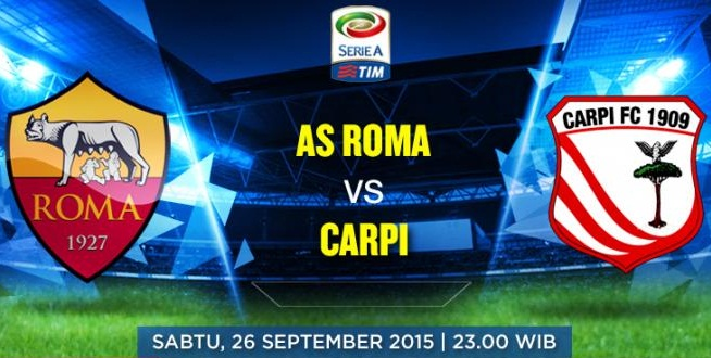 Link sopcast AS Roma vs Carpi, 22h59 - 26/9