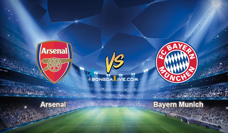 Link sopcast Arsenal vs Bayern Munich, 01h45 – 21/10