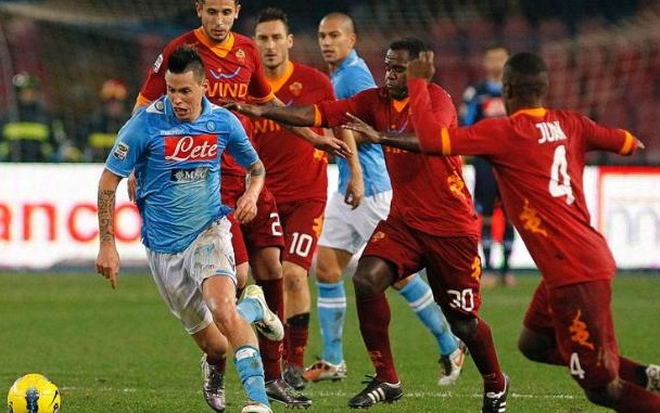 Link sopcast trận AS Roma vs Napoli, 20h00 – 25/04