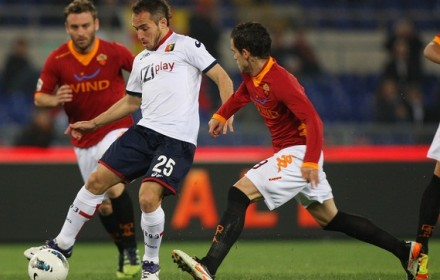 Link sopcast trận Genoa vs AS Roma, 00h00 – 03/05